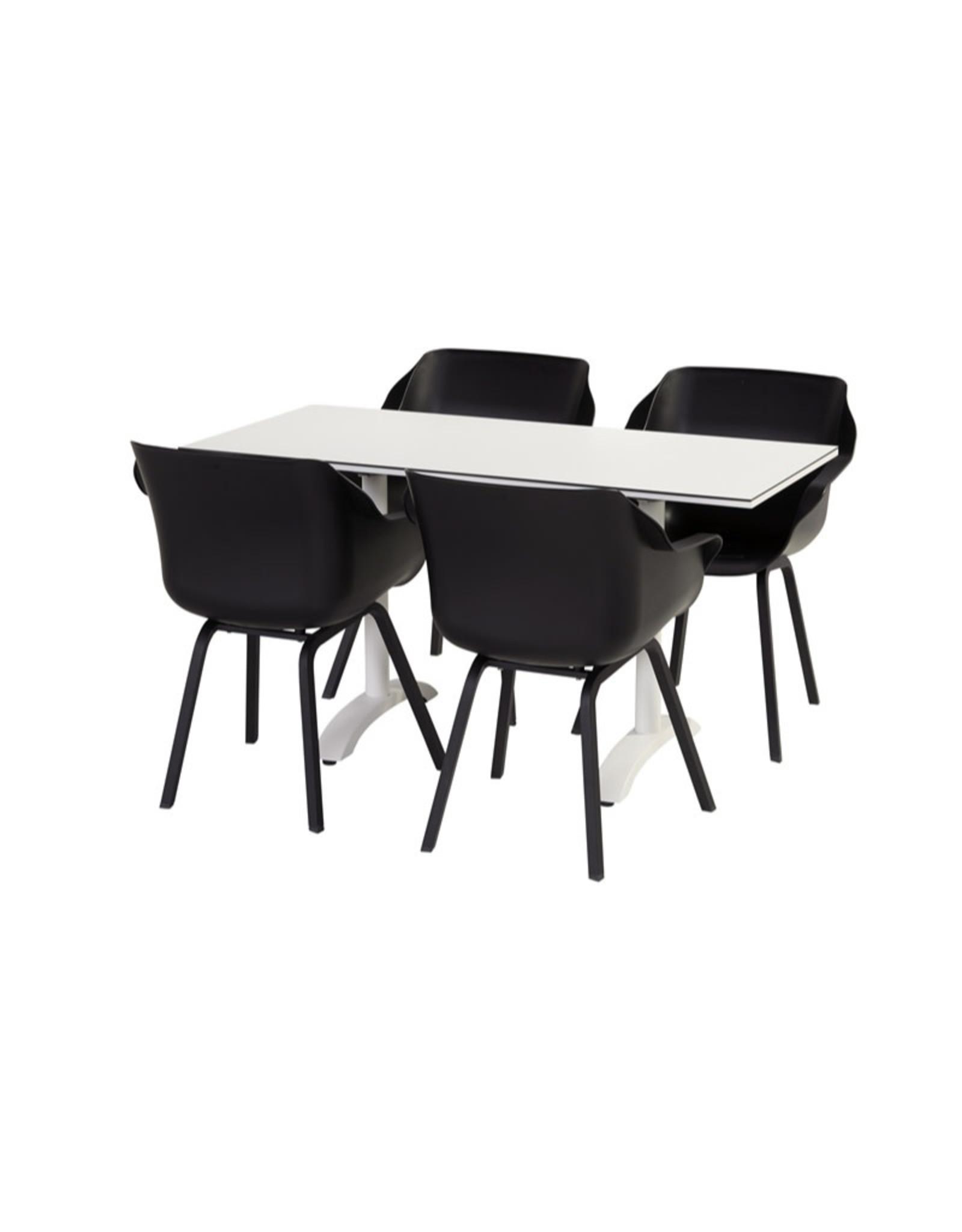 Hartman Hartman Sophie HPL Bistro Table 138x68x75cm with flip function