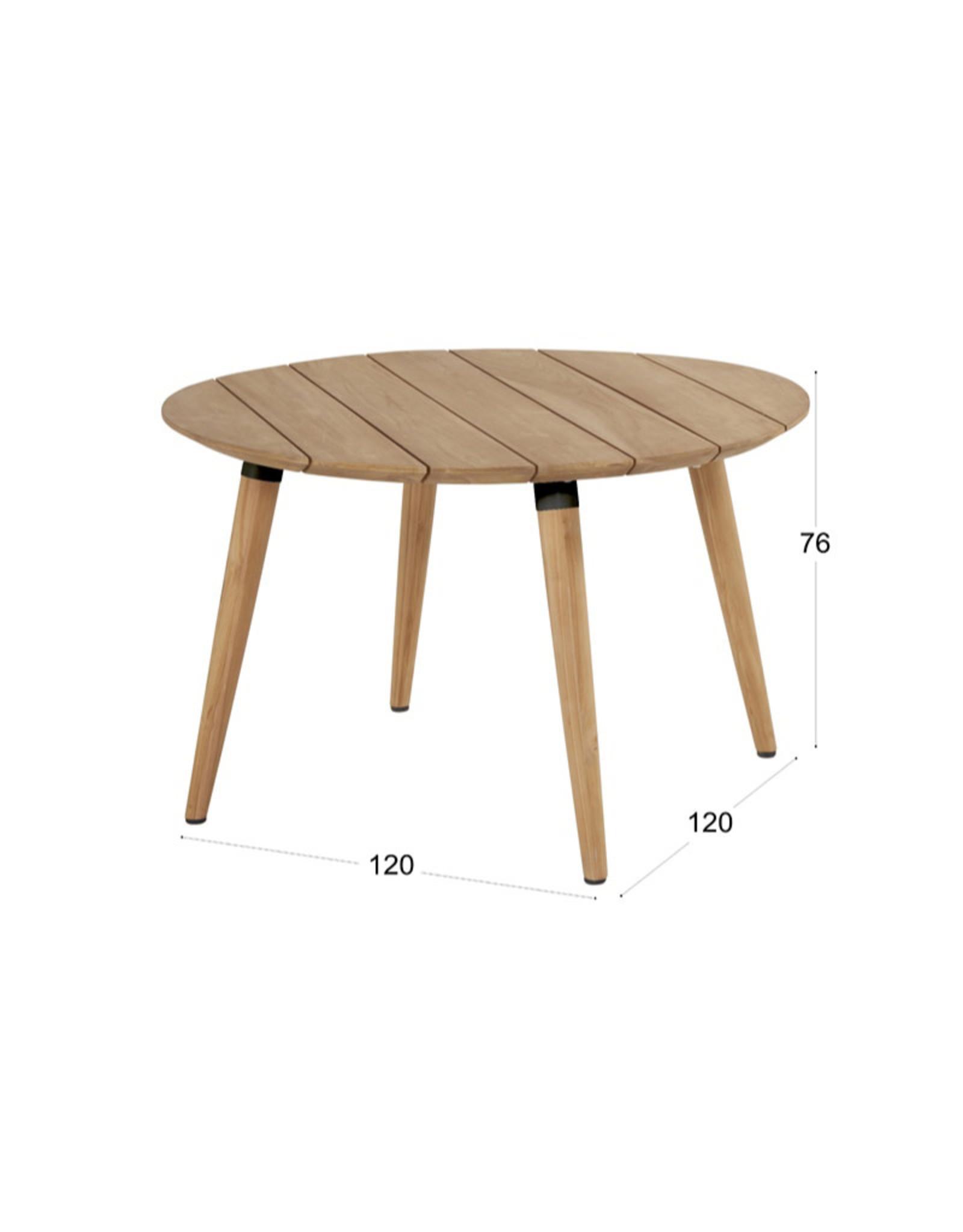 Hartman Hartman Sophie Teak Table r.120cm (set article)