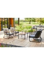 Hartman Hartman Studio 54 lounge chair carbon, Light Grey fabric