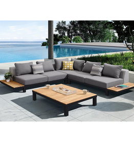 Hamilton Bay OUTDOOR Hamilton Bay Polo Loungeset Premium 280x280cm dark gray