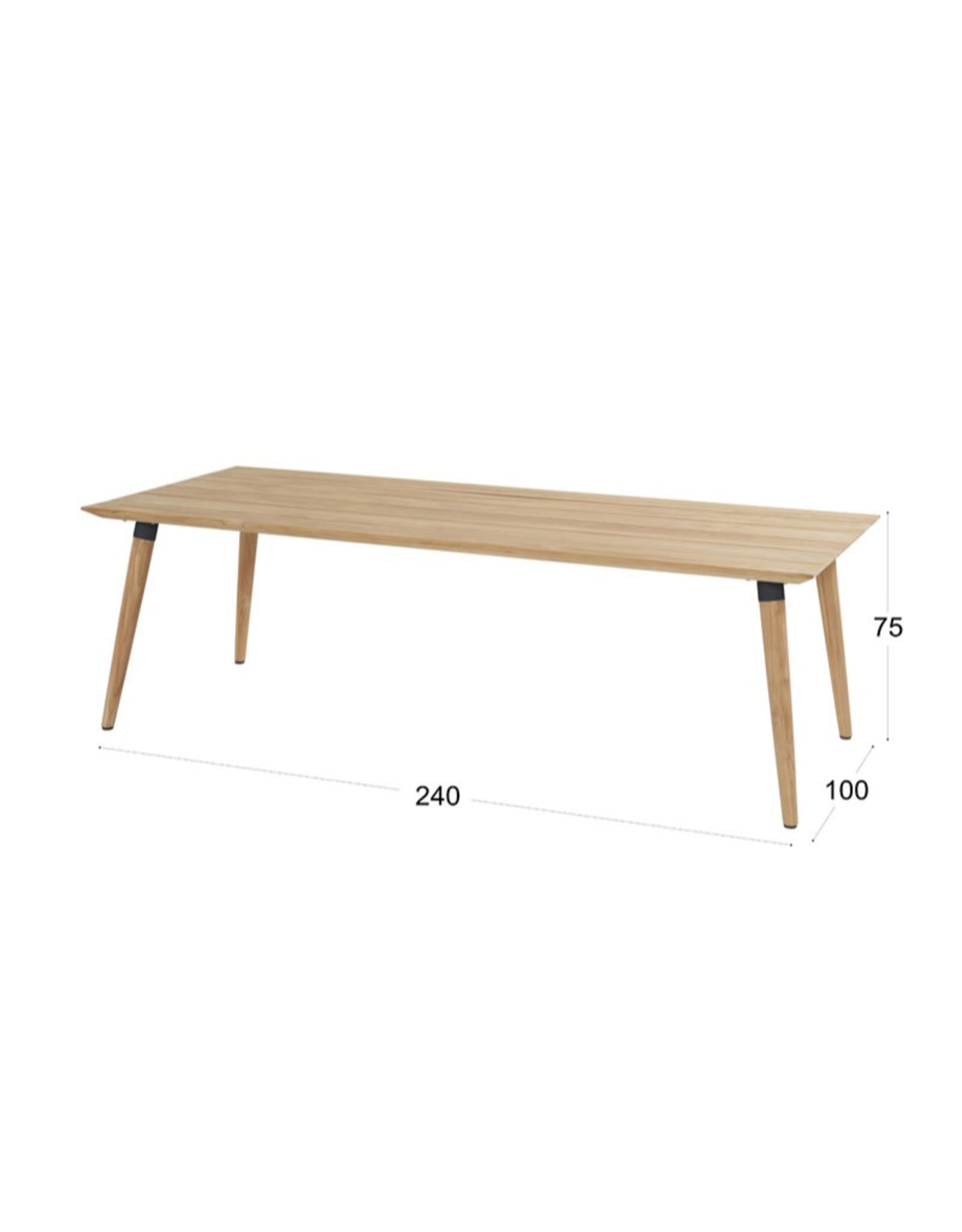 Hartman Hartman Sophie Studio Teak Table 240x100cm
