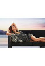 Higold Higold New York Three-seater sofa set 4dlg zwart/teak