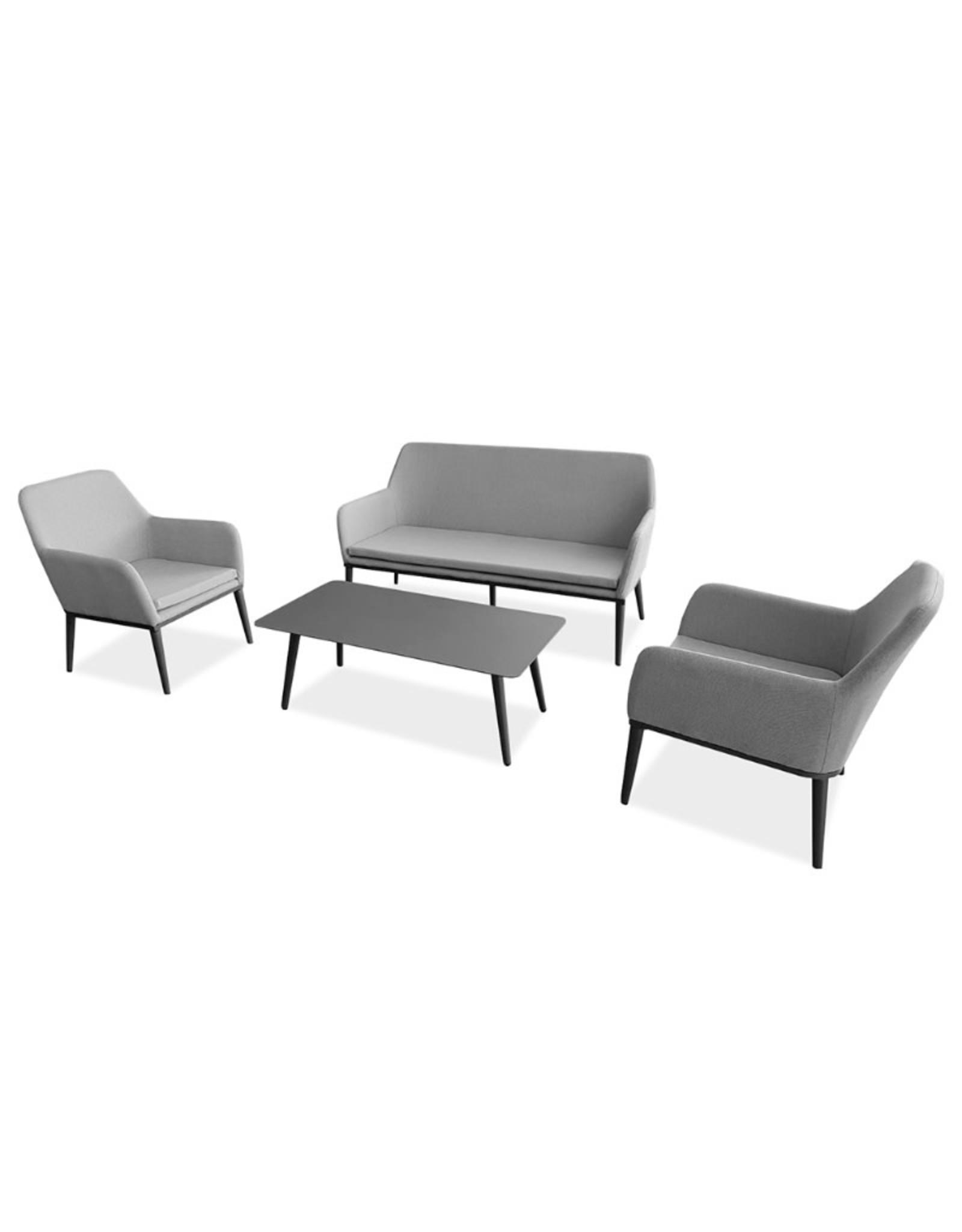 Hamilton Bay OUTDOOR Hamilton Bay Manhatten sofa loungeset donkergrijs