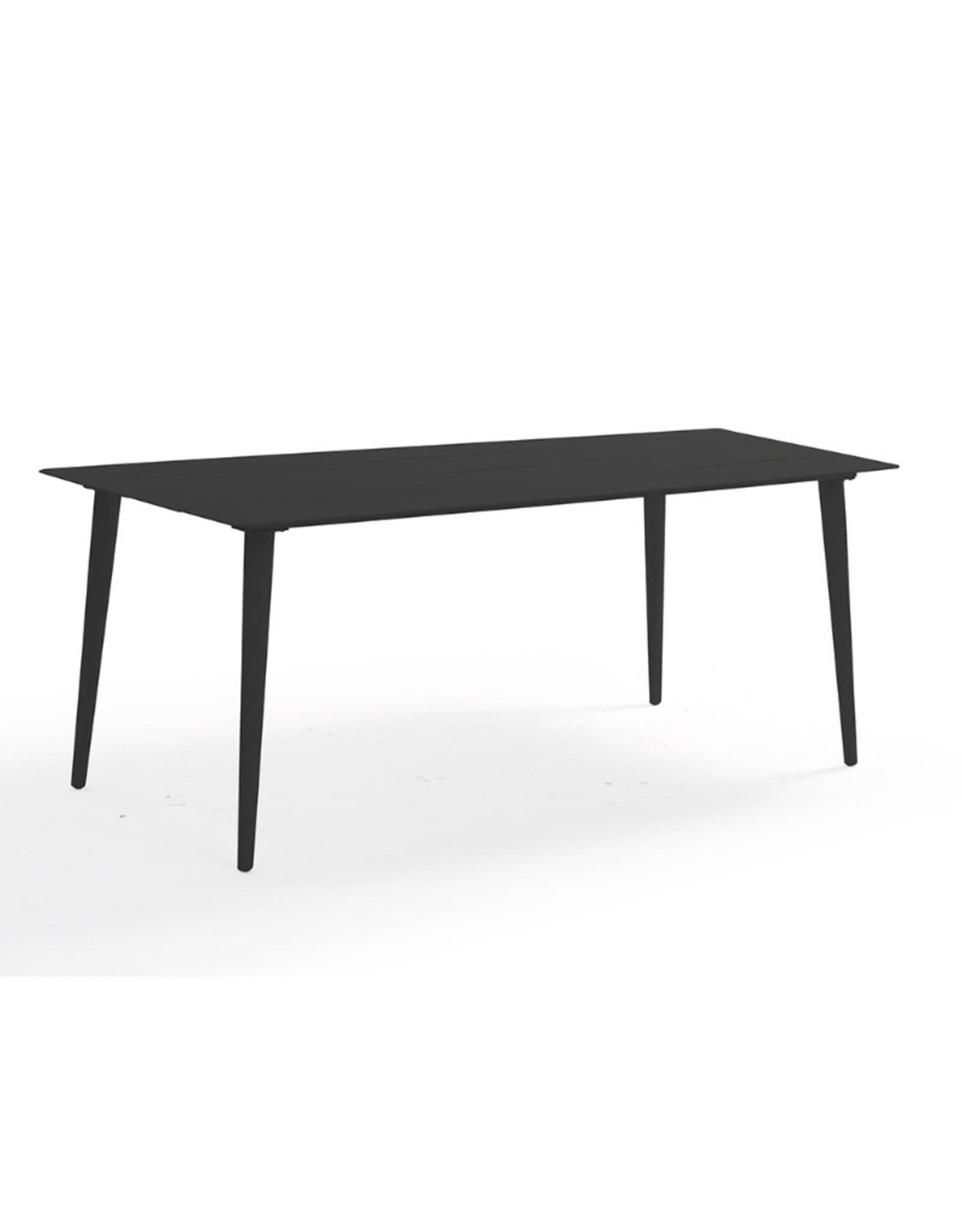 Hamilton Bay OUTDOOR Hamilton Bay Cosmo tafel 180x100 full aluminium donkergrijs