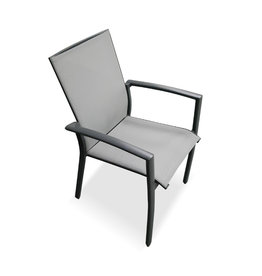 Hamilton Bay OUTDOOR Hamilton Bay Empire armchair aluminum dark gray