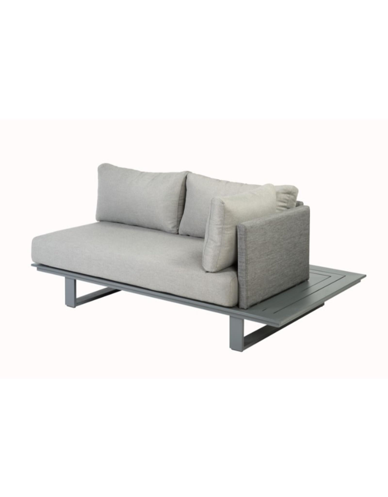 Tierra Outdoor Bora Bora platform lounge set full aluminium Left