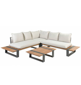 Tierra Outdoor Tierra Outdoor Dawson Lounge Set Dove