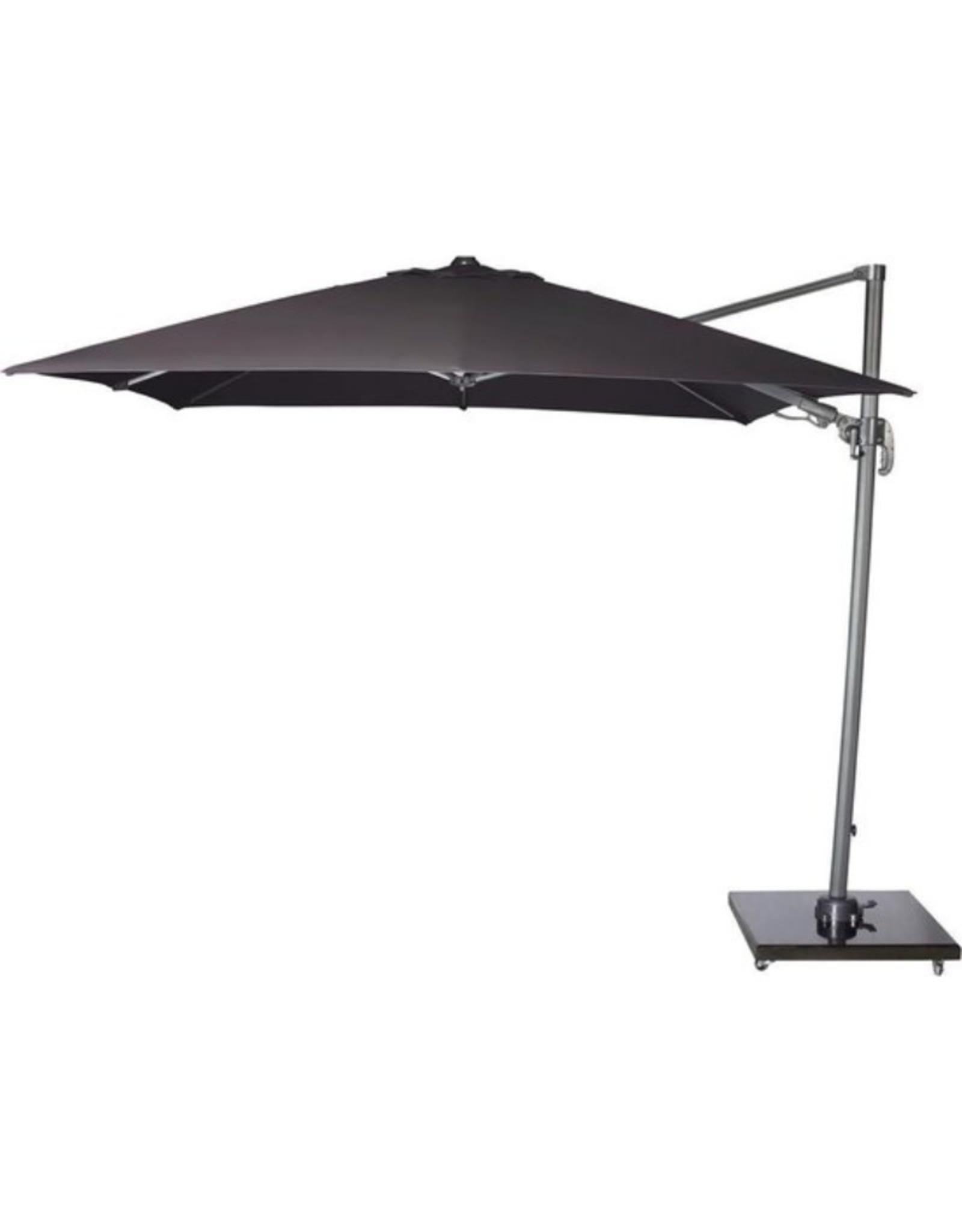 Tierra Outdoor Tierra Outdoor 90kg zwart gepolijst graniet en verrijdbare parasolvoet voor free arm parasols