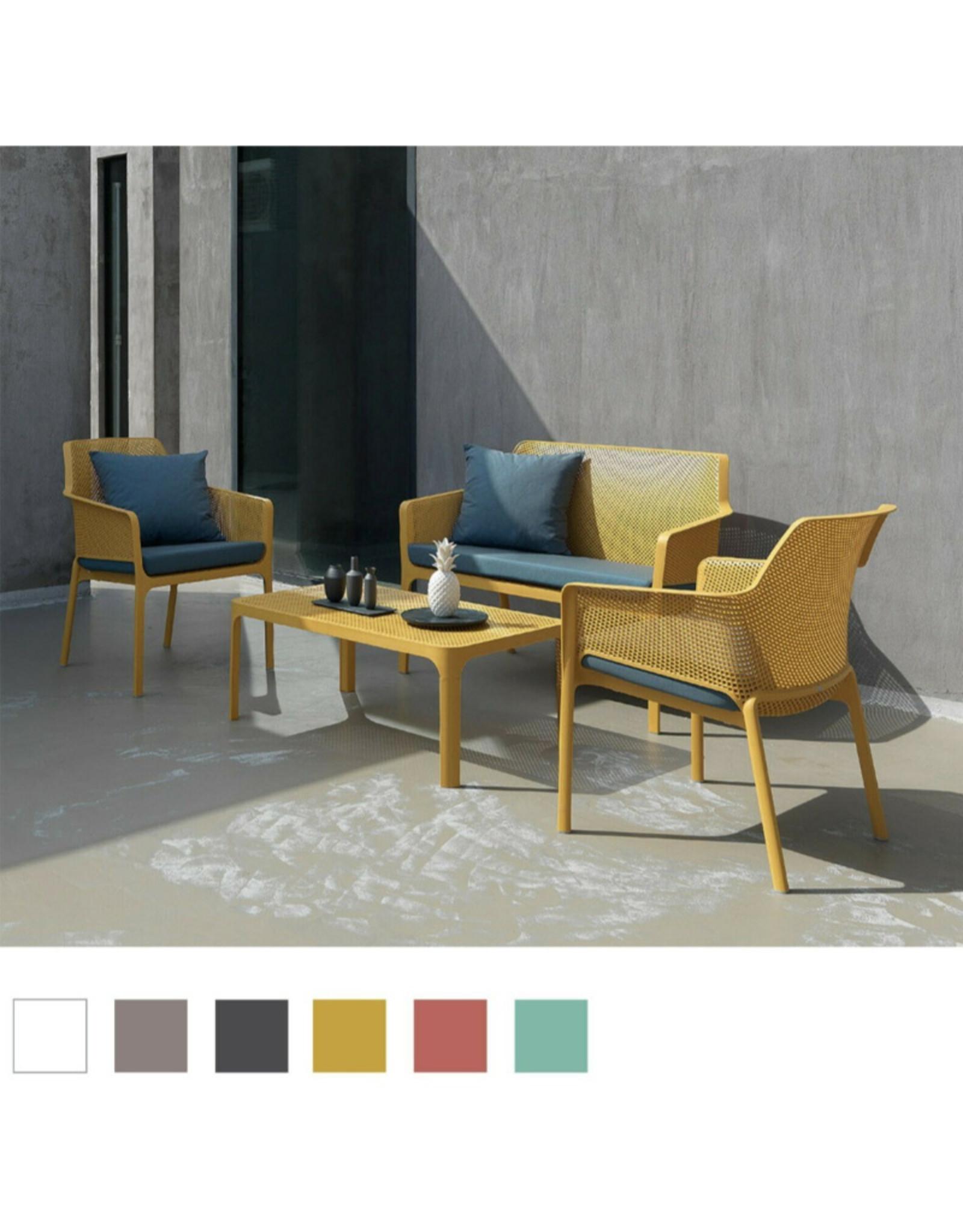 Nardi Nardi Net relax sofa set 4-delig Okergeel