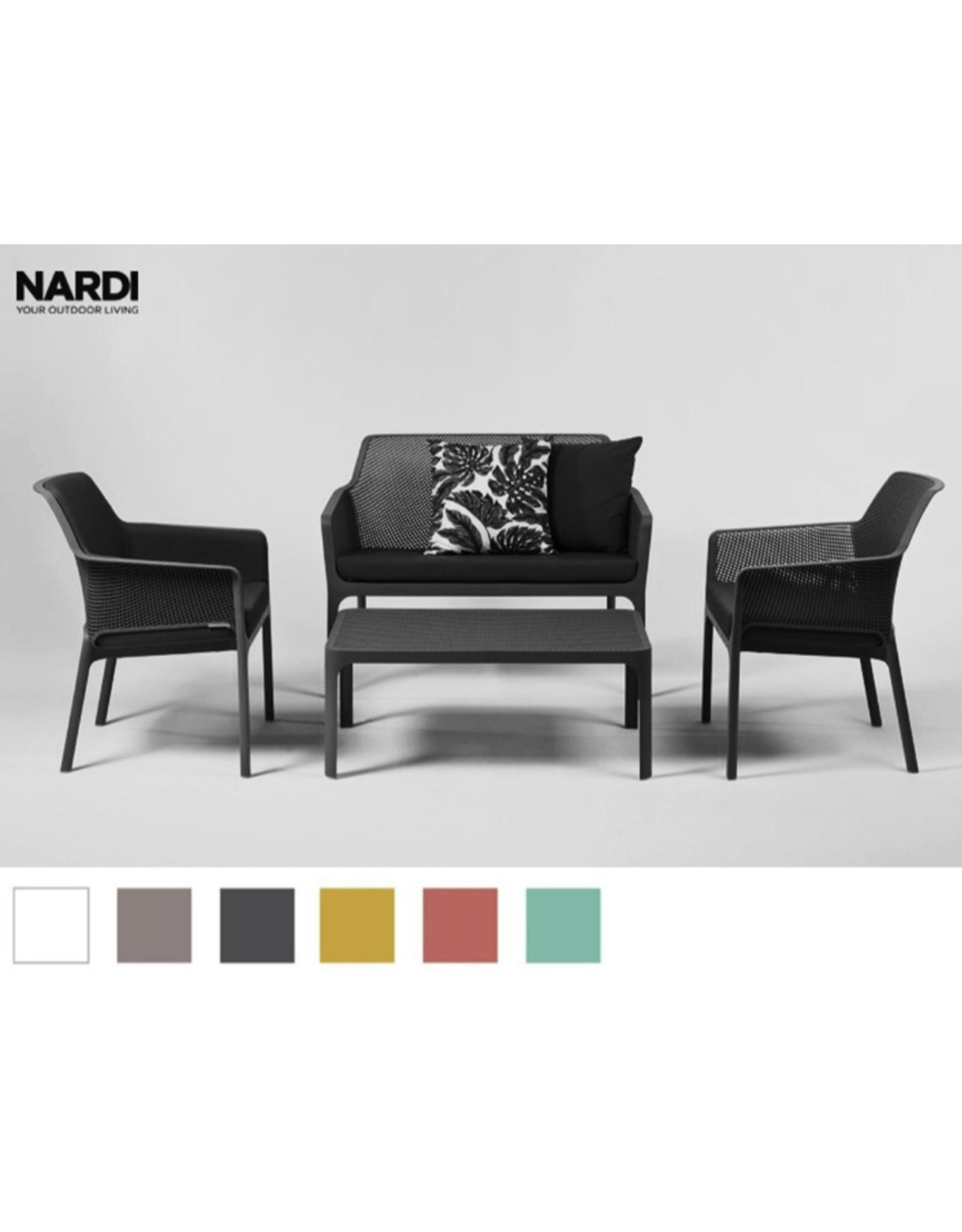 Nardi Nardi Net relax sofa set 4-delig Donkergrijs