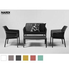 Nardi Nardi Net relax sofa set 4-piece Dark gray