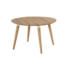 Hartman Hartman Sophie Studio Teak Table 120cm  rond Wit-TEAK
