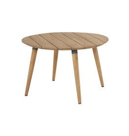 Hartman Copy of Hartman Sophie Studio Teak Table 120cm  rond (set article) Wit-TEAK