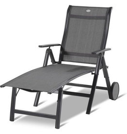 Hartman Hartman Alice Lounger Dark Gray w. ALU arms