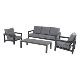Hartman Hartman Barrosa 3-seater sofa set  Dark Gray