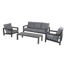 Hartman Hartman Barrosa 3-seater sofa set donkergrijs