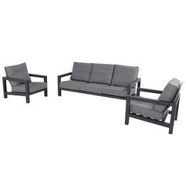 Hartman Hartman Barrosa 3-seater sofa set  Dark Gray