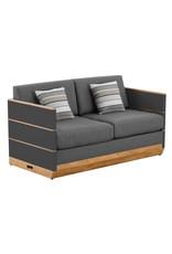 Higold Higold Nutt 4piece sofa lounge set Charcoal -teak