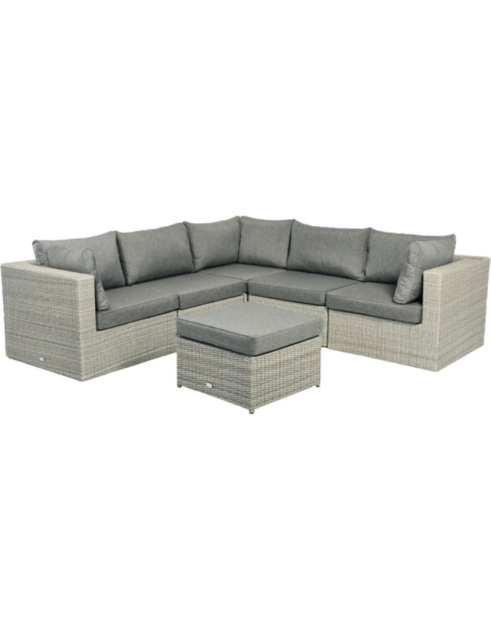 Tierra Outdoor Tierra Outdoor Illias Lounge SET 5-DLG Corner+footstool