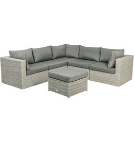 Tierra Outdoor Tierra Outdoor Illias Lounge SET 5-pc  Corner+footstool