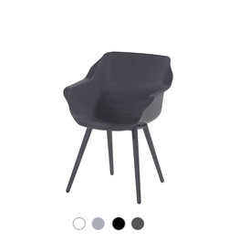Hartman HARTMAN SOPHIE STUDIO ARMCHAIR with seat and legs in white, gray or black