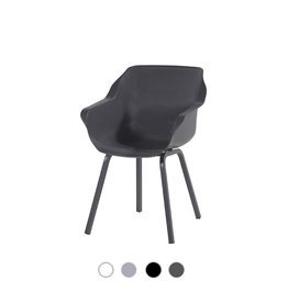 Hartman HARTMAN SOPHIE ELEMENT ARMCHAIR with seat and legs in white, gray or black