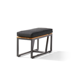 Sieger Sieger Havanna BENCH - SIDE TABLE, gray incl. cushion nr.458