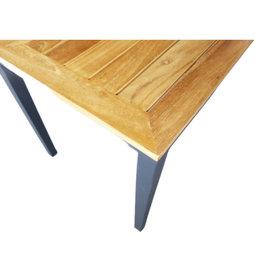 Hamilton Bay OUTDOOR Hamilton Bay OUTDOOR Aurora Side Table alu. teak