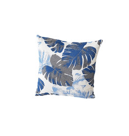 Hamilton Bay OUTDOOR Hamilton Bay OUTDOOR decorative cushion Monstera Azure 45x45cm