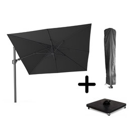 Platinum B.V. Platinum cantilever SET Challenger T2  3x3 Dark Gray with 90KG BASE ON WHEELS and COVER