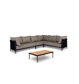 Tierra Outdoor Tierra Outdoor CADOZO 5-delige Lounge Set XL Zwart