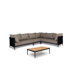Tierra Outdoor Tierra Outdoor CADOZO 5-piece Lounge Set XL Black