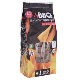 BBQ BBQ Aanmaakblokjes hout zak van 80st.