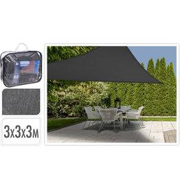 AMBIANCE Ambiance Schaduwdoek 3x3x3 driehoek antraciet art.X66100100