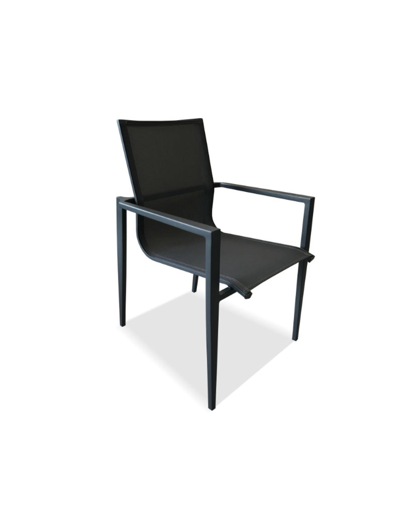 Hamilton Bay OUTDOOR Hamilton Bay OUTDOOR Aurora alu. Dining Chair antraciet textileen