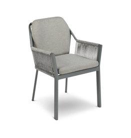 Tierra Outdoor Tierra Outdoor Liv Dining Chair Charcoal +kussens