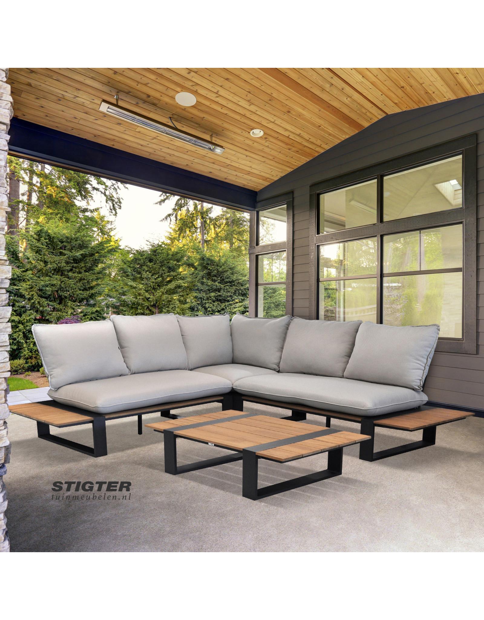 Tierra Outdoor Tierra Outdoor Dawson Lounge Set Dove