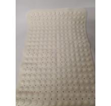 Antislip douche/Badmat creme wit 85 x 55 cm