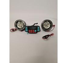 Motorcycle handsfree luidspreker Audio FM-radio Systeem Stereo MP3-speler met Bluetooth - 3 inch
