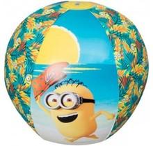 Minions Strandbal - bal - opblaasbaar - Doorsnede 50 cm