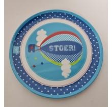 Melamine kinder peuter eetbord - bedrukking Stoer!