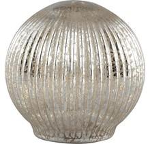 Tafellamp Abigail goud - 12 x 12 x 12 cm -Gold Abigail gold glass ribbed ball