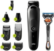MGK5260 8-in-1 Trimmer - Baardtrimmer Voor Mannen - Gezichts- En Haartrimmer - Zwart/Grijs