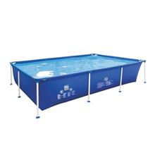 Zwembad - rechthoekig - Frame Pool - 258 x 179 x 66 cm