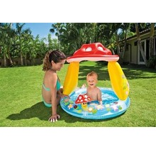 Paddenstoelen zwembad met zonnedak - Mushroom pool - 102 x 89 cm