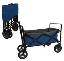 Bolderwagen - bolderkar blauw/grijs - Opvouwbaar