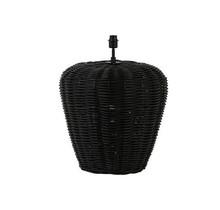 Soreang lampvoet rotan zwart - Ø56 x 68 cm