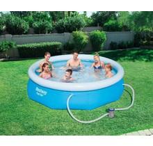 Opblaasbaar Zwembad Fast Set rond - blauw - diameter 305 cm x 76 cm hoog