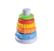 Stapeltoren Junior - ringen piramide -  20 cm - 6-delig