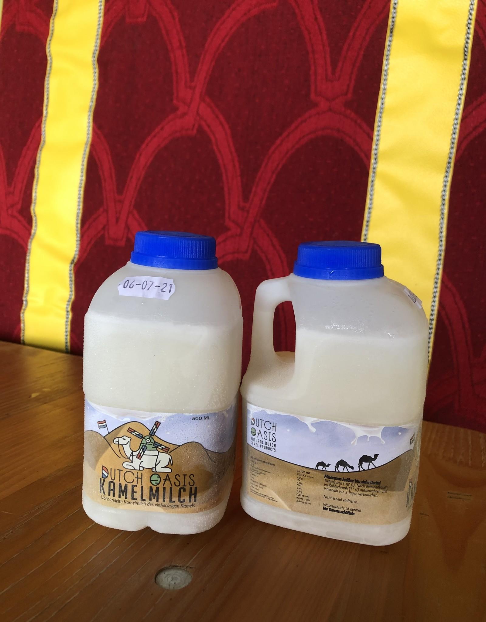 8 litres Lait de chamelle, cru, non traité, surgelé - Copy